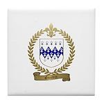 GAUDIN Family Crest Tile Coaster