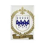 GAUDIN Family Crest Rectangle Magnet