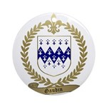 GAUDIN Family Crest Ornament (Round)