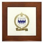 GAUDIN Family Crest Framed Tile