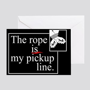 Pickup Line Greeting Card