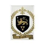 PAGEOT Family Crest Rectangle Magnet