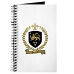 PAGEOT Family Crest Journal