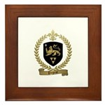 PAGEOT Family Crest Framed Tile