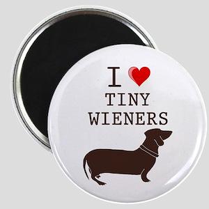 Tiny Wiener Dachshund Magnet