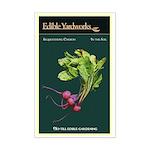 Edible Yardworks Mini Vintage Poster Print