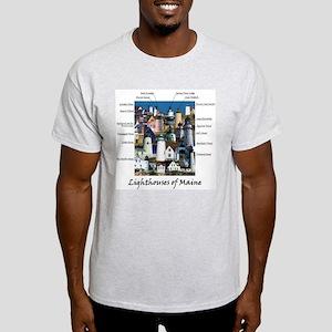 Lighthouses of Maine Light T-Shirt