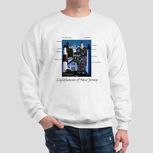 Lighthouses of New Jersey Sweatshirt