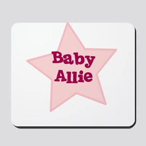 Baby Allie Mousepad