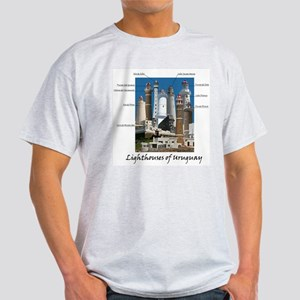 Lighthouses of Uruguay Light T-Shirt