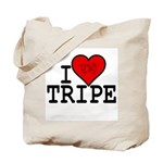 """I Love Tripe"" Tote Bag"
