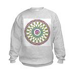 Celtic Spring-Easter Mandala Kids Sweatshirt