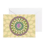 Celtic Spring Mandala Greeting Cards (Pk of 10)