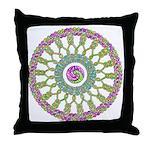 Celtic Spring-Easter Mandala Throw Pillow