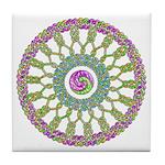 Celtic Spring-Easter Mandala Tile Coaster