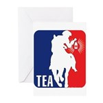 Tea Party Logo Greeting Cards (Pk of 10)