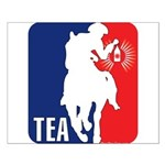 Tea Party Logo Small Poster