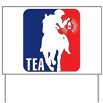 Tea Party Logo Yard Sign