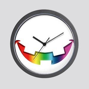 Smiley Halloween Mouth R Wall Clock