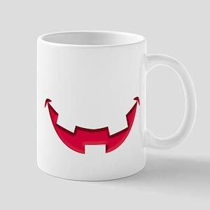 Smiley Halloween Mouth Red Mug