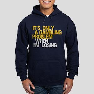 Gambling Problem Hoodie (dark)