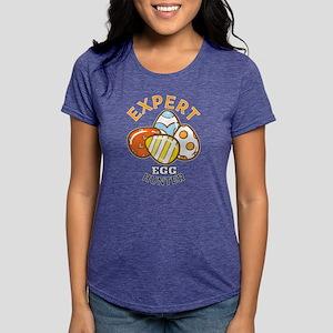 Expert Egg Hunter Funny Easter Egg print T-Shirt