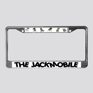 THE JACKMOBILE License Plate Frame