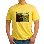 Minnesota Rocks! Yellow T-Shirt