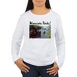 Minnesota Rocks! Women's Long Sleeve T-Shirt