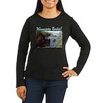 Minnesota Rocks! Women's Long Sleeve Dark T-Shirt