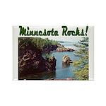 Minnesota Rocks! Rectangle Magnet