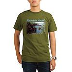 Minnesota Rocks! Organic Men's T-Shirt (dark)