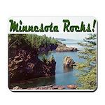 Minnesota Rocks! Mousepad
