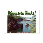 Minnesota Rocks! Mini Poster Print