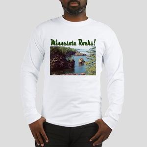 Minnesota Rocks! Long Sleeve T-Shirt