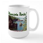 Minnesota Rocks! Large Mug