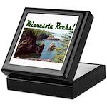 Minnesota Rocks! Keepsake Box