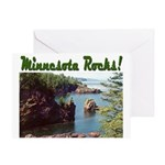 Minnesota Rocks! Greeting Card