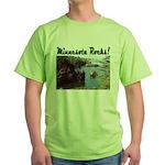 Minnesota Rocks! Green T-Shirt