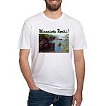 Minnesota Rocks! Fitted T-Shirt