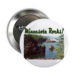"Minnesota Rocks! 2.25"" Button (10 pack)"