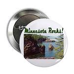 "Minnesota Rocks! 2.25"" Button"
