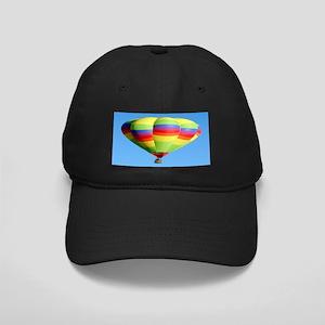 Rainbow Balloon Black Cap