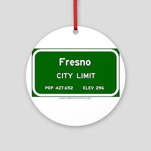 Fresno Ornament (Round)