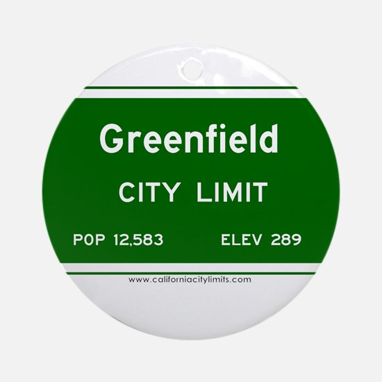 Greenfield Ornament (Round)