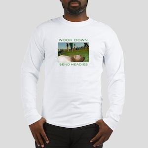 w00k down Long Sleeve T-Shirt