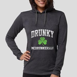 Drunky -blk Long Sleeve T-Shirt