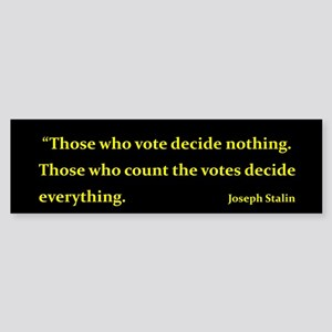 Who counts the votes