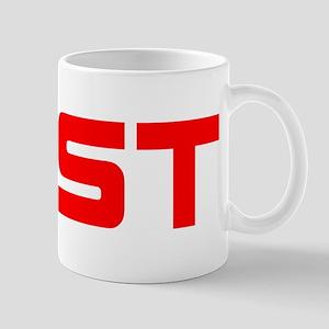 EAST red Mugs