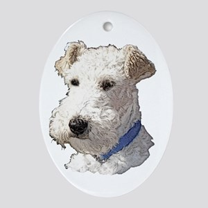 Wire Fox Terrier Ornament (Oval)